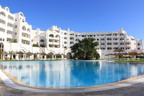 Коледа и Нова година в Тунис с КАПАРО от 50 лв! Самолетен билет за полет на Bulgaria Air + 5 нощувки в хотел Lella Baya 4* Thalasso на база All inclusive само за 1049 лв. на Човек!
