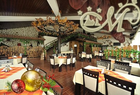 НОВА ГОДИНА в Мелник, Хотел Мелник 3*! 2 нощувки + 2 Закуски + 2 Вечери вкл. Празнична вечеря с програма + Новогодишен БРЪНЧ + СПА само за 330 лв. на човек