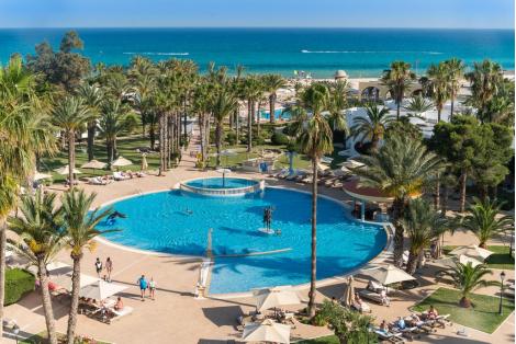 Нова година в Тунис с КАПАРО от 50 лв! Самолетен билет за полет на Bulgaria Air + 5 нощувки в хотел Steigenberger Marhaba Thalasso 5* Lux на база All inclusive само за 1090 лв. на Човек!
