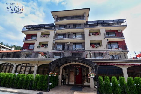 Хотел ЕНИРА 4*, ВЕЛИНГРАД: Нощувка със закуска и ВЕЧЕРЯ за 54.50 лв. + Ползване на външен и вътрешен акватоничен басейн + Спа-пакет