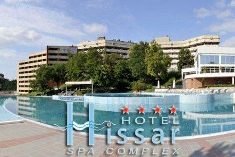 На СПА в Хисаря, хотел Хисар 4*: Нощувка със закуска + басейн и СПА център за 118 лв. за ДВАМА (59 лв. / на човек)