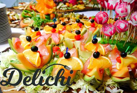 Парти с Кулинарна работилница Дели4и! 150 броя празнични хапки, аранжирани и декорирани за директно сервиране САМО за 69.95 лв.