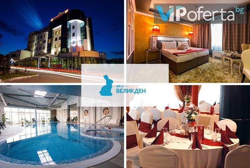 Пакети със закуски, обяд, вечери, разходка, певица и ползване на басейн и СПА в DIPLOMAT PLAZA Hotel & Resort****